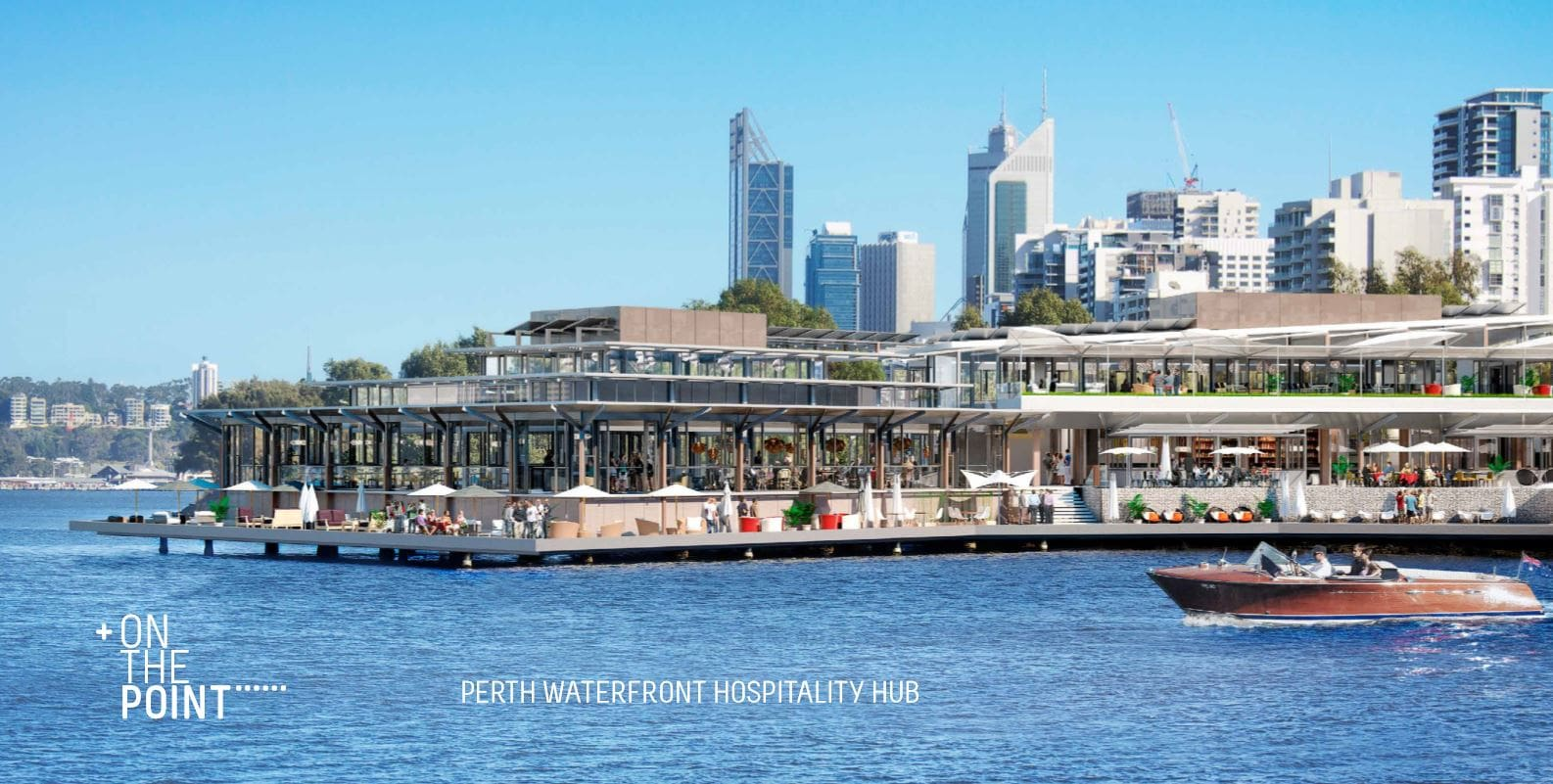 On the Point | Perth's Newest Water Front Entertainment Destination