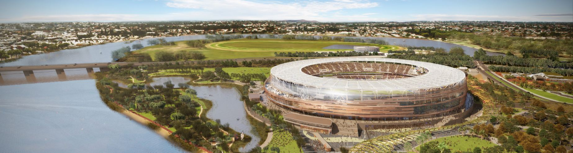English Premier League Champions coming to the New Perth Stadium