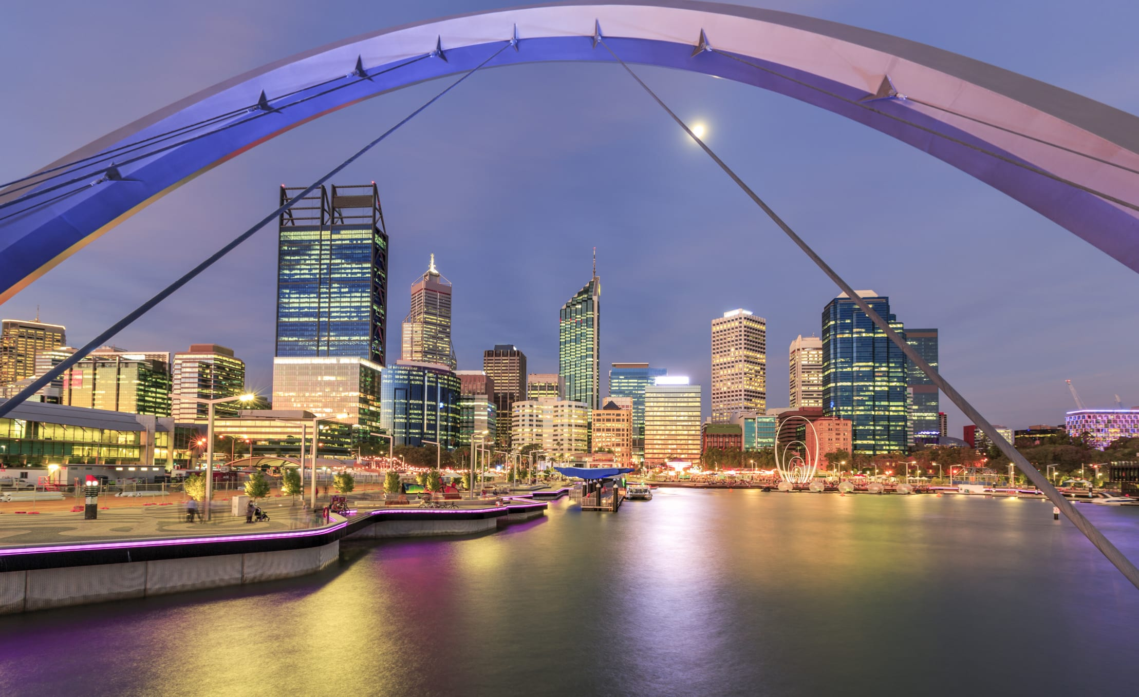 Elizabeth Quay – Perth Night Noodle Markets