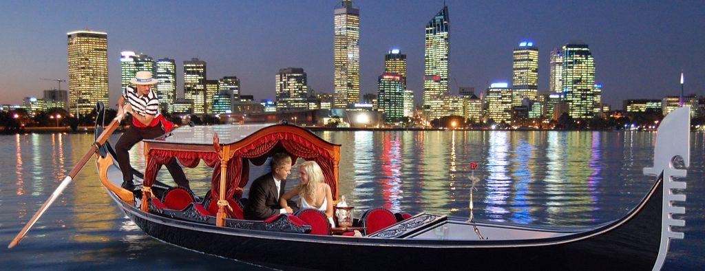 Gondolas on the Swan – Elizabeth Quay