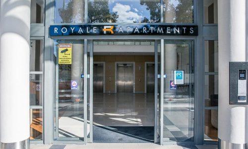 Royal Apartments Entrance