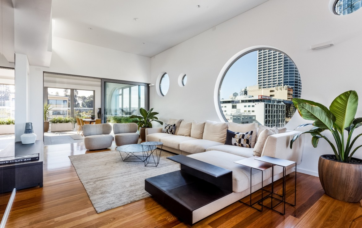 Halo Penthouse 23/35 mount street west perth